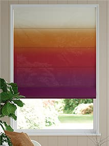 Lumiere Unlined Ombre Sunset Roman Blind thumbnail image