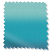 Lumiere Unlined Ombre Teal Roman Blind sample image