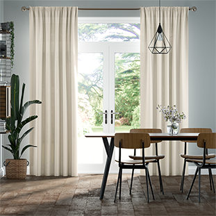 Lumiere Unlined Wilton Natural Weave Curtains thumbnail image