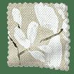 Madelyn Linen Chalk White Roman Blind sample image