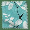 Choices Madelyn Linen Tropical Blue Roller Blind slat image