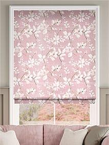 Madelyn Velvet Rose Quartz Roman Blind thumbnail image