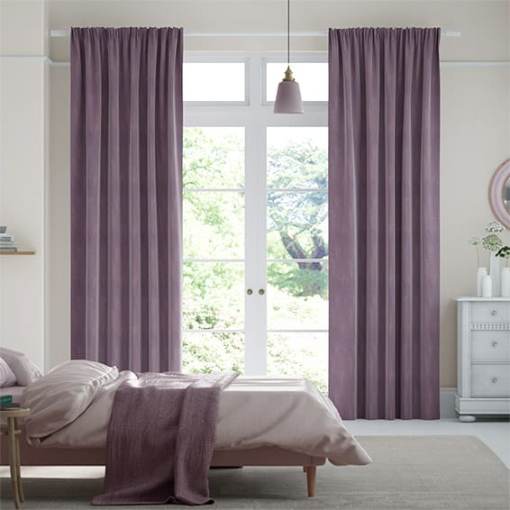 Maharaja Amethyst Curtains