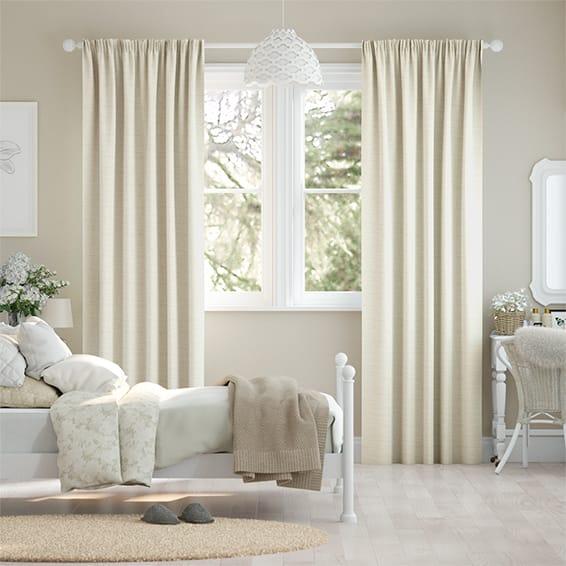 Mallay Soft Cream Curtains