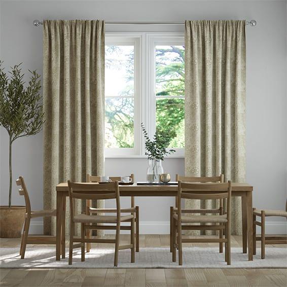William Morris Marigold Hemp Curtains