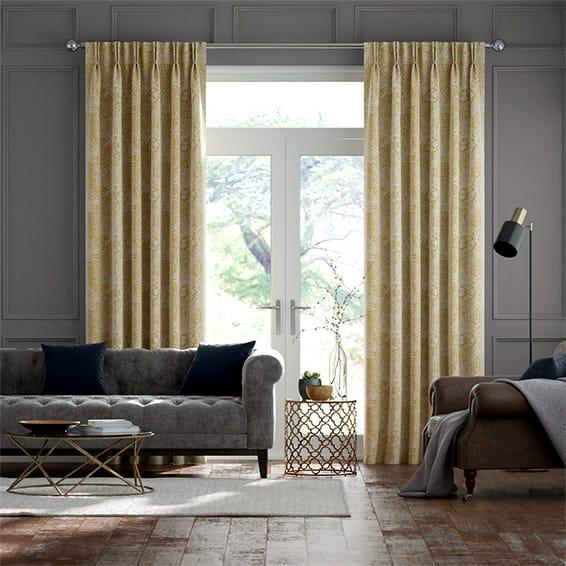 William Morris Marigold Mimosa Curtains