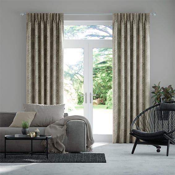 William Morris Marigold Zinc Curtains