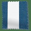 Maritime Coastal Blue Roller Blind sample image