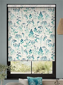 Meadow Teal Roller Blind thumbnail image