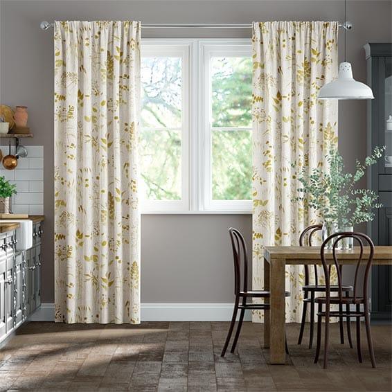 Meadow Ochre Curtains