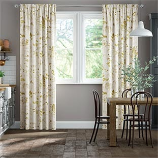 Meadow Ochre Curtains thumbnail image