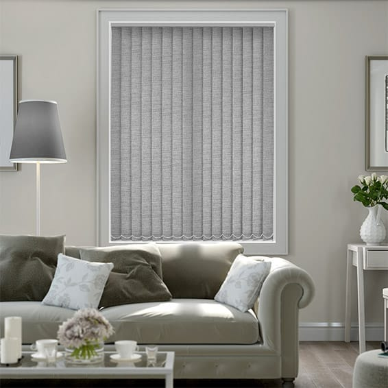 Medina Warm Grey Vertical Blind