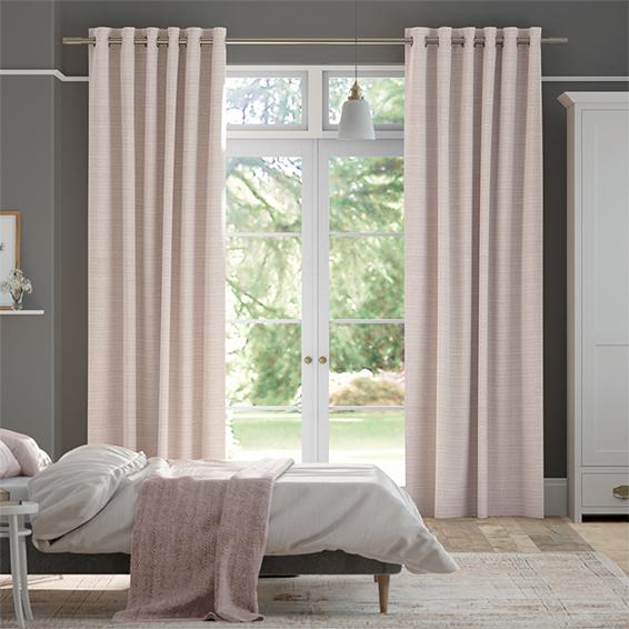Melton Dusky Pink Curtains