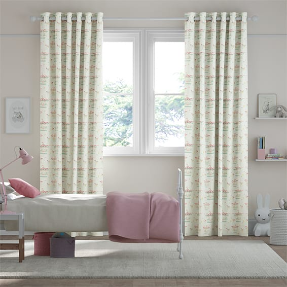 Merry Go Blossom Curtains