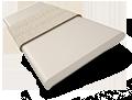 Metropolitan Crème & Glacier Wooden Blind - 50mm Slat slat image