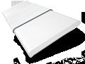 Metropolitan Gloss Ultra White & Linen - 50mm Slat sample image