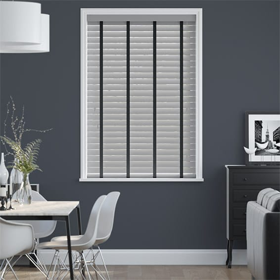 Metropolitan Iron & Raven Wooden Blind - 50mm Slat