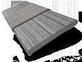 Metropolitan Mahoe & Paloma Wooden Blind - 50mm Slat slat image