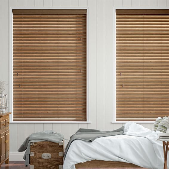 Metropolitan Maple Wooden Blind - 50mm Slat