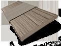 Metropolitan Scandinavian Oak & Putty Wooden Blind - 50mm Slat slat image