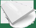 Metropolitan Soft Gloss White Wooden Blind - 50mm Slat slat image