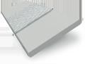 Metropolitan Thunder Grey & Stone Wooden Blind - 50mm Slat slat image