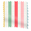 Mid Stripe Candy Roller Blind swatch image