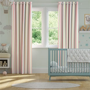 Mid Stripe Candy Curtains thumbnail image
