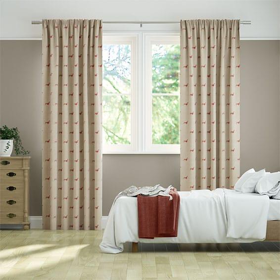 Mini Dachshunds Curtains