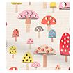 Mini Mushrooms Multi Roller Blind swatch image