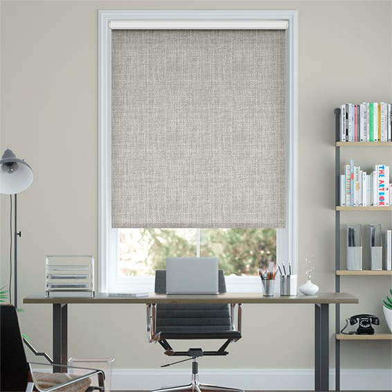 Moda Blackout Ash Grey Roller Blind