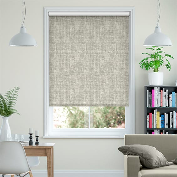 Moda Blackout Stone Grey Roller Blind