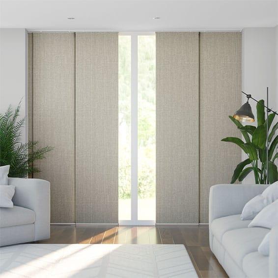 Moda Stone Grey Panel Blind