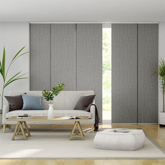Moda Storm Grey Panel Blind