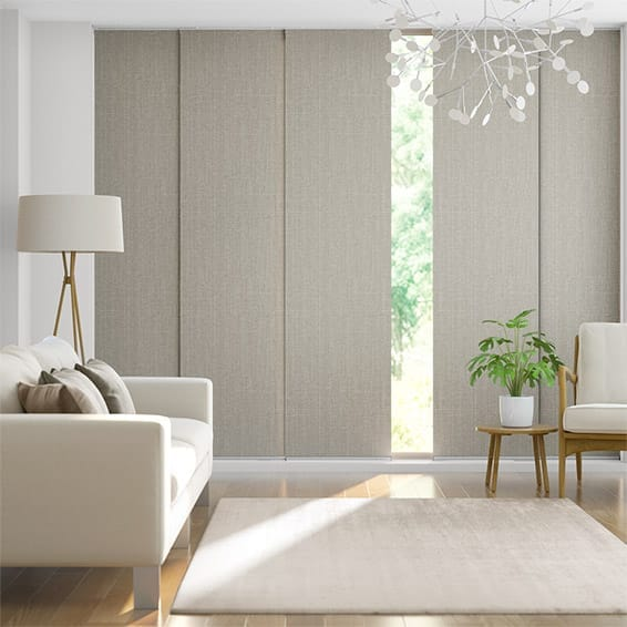 Moda Warm Grey Panel Blind