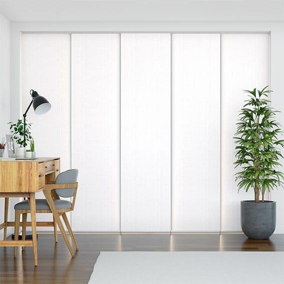 Moda White Panel Blind