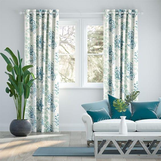 Moku Aqua Curtains