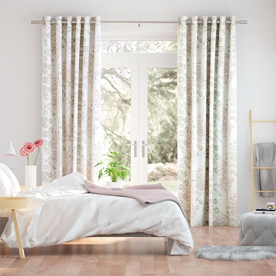 Moku Blush Curtains
