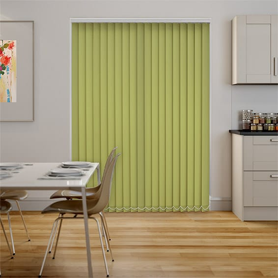 Monarch Lime Vertical Blind