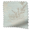 Moonlit Fern Faux Silk Pastel Blue swatch image