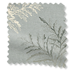 Moonlit Fern Faux Silk Platinum swatch image
