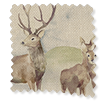 Moorland Stag Blackout Linen swatch image