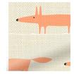 Mr Fox Mini Orange Roman Blind slat image