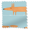 Mr Fox Mini Sky Roller Blind slat image