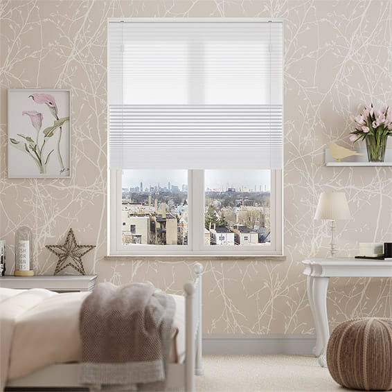 Night & Day Duo Simply White Thermal Blind