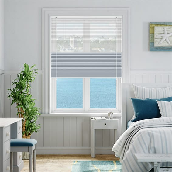 Night & Day Duo Voile Sky Thermal Blind