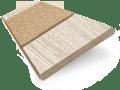 Nordic Oak & Camel Faux Wood Blind - 50mm Slat sample image