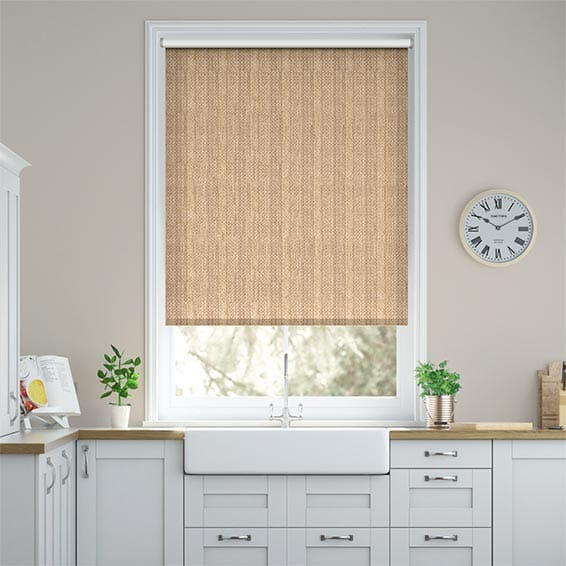 Northumberland Blackout Wicker Roller Blind
