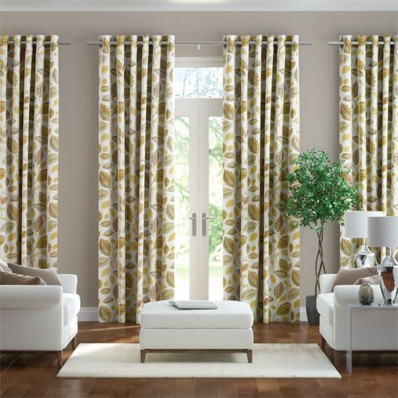 Octavia Golden Harvest Curtains