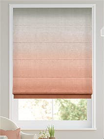 Ombre Blush Roman Blind thumbnail image